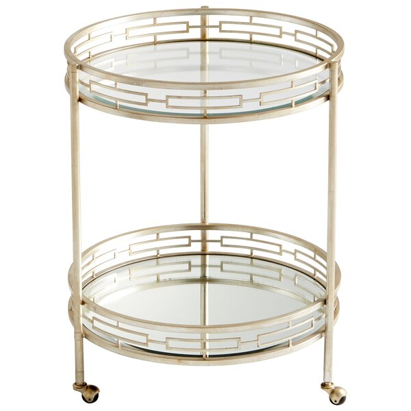 Gilded Meridian Bar Cart by Cyan Design