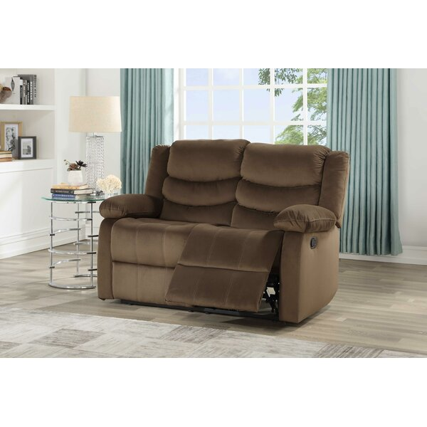 Shopping Web Prieto Reclining Loveseat by Andover Mills by Andover Mills