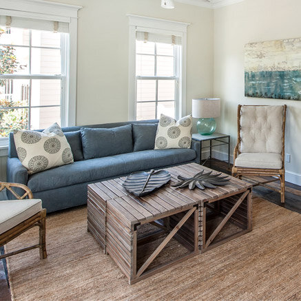 How to Decorate a Blue and White Living Room | Wayfair