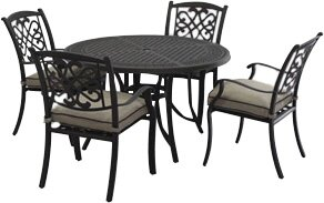 Hanson Round Dining Table by Darby Home Co