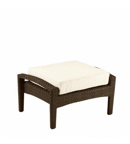 Trinidad Ottoman with Cushion by Woodard