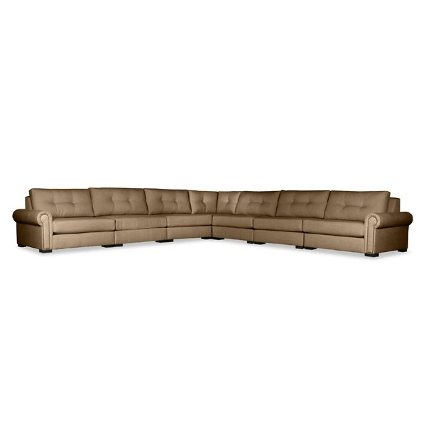 Willia Symmetrical Modular Sectional by Three Posts