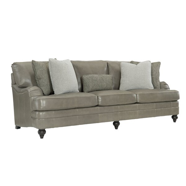 Find Out The Latest Tarleton Top Grain Leather Sofa by Bernhardt by Bernhardt