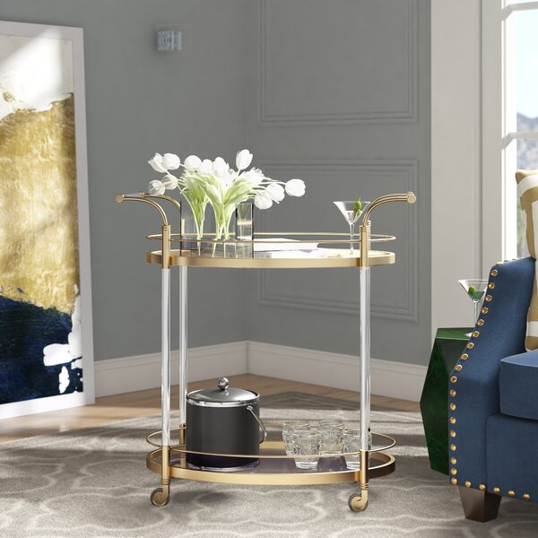 Schroeder Bar Cart by Mercer41 Mercer41