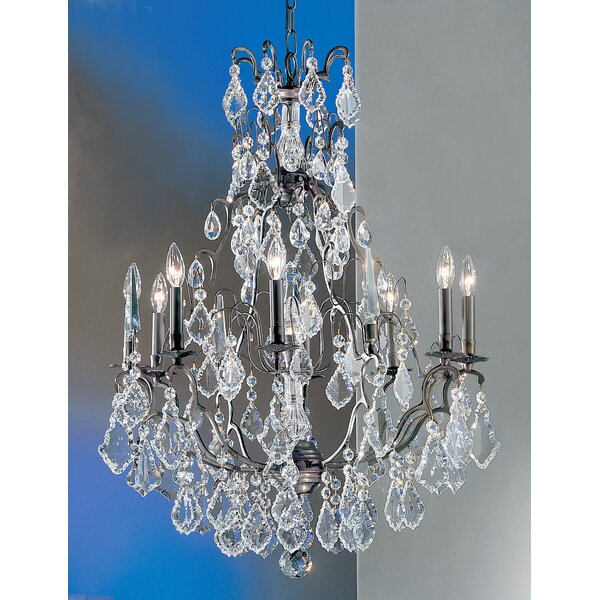 Gregor 9-Light Candle Style Chandelier by House of Hampton