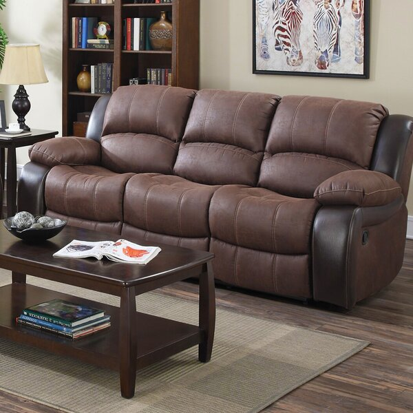 Ballyrashane Reclining Sofa by Winston Porter