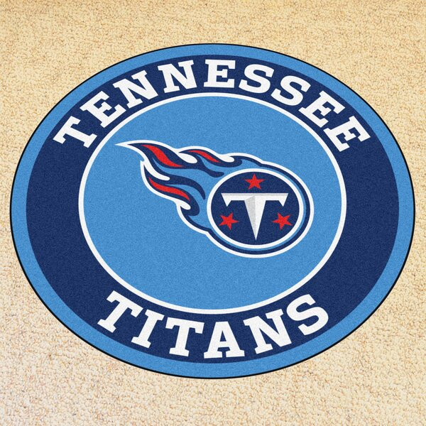 NFL Tennessee Titans Roundel Mat by FANMATS
