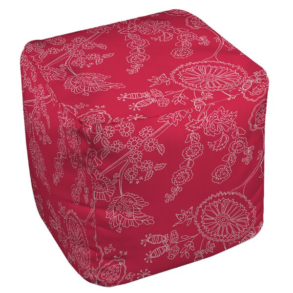 Anima Outline Pouf by Manual Woodworkers & Weavers