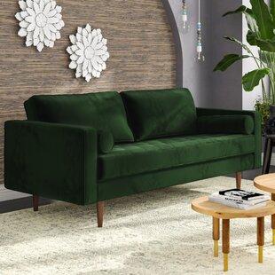Beau Emerald Green Sofa | Wayfair