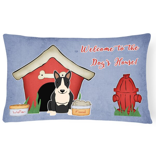 Wildlife Dog House Indoor/Outdoor Graphic Print Lumbar Pillow by East Urban Home