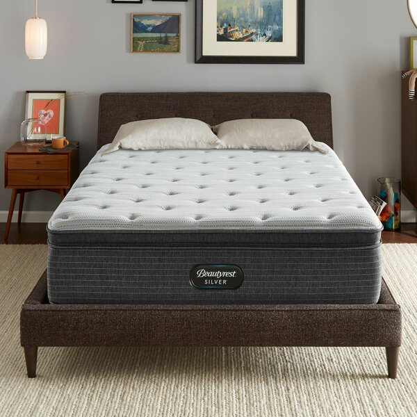 14.75 inch Plush Pillow Top Mattress and Box Spring by Beautyrest