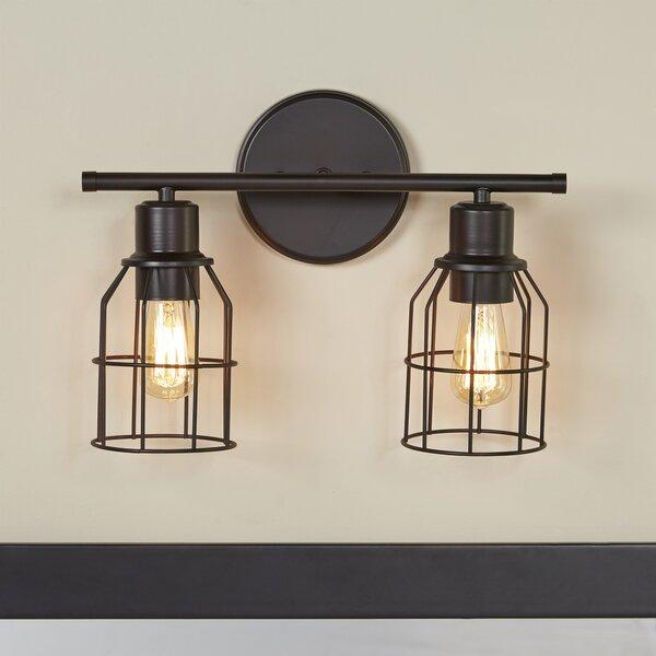 Cessal 2-Light Vanity Light by Trent Austin Design