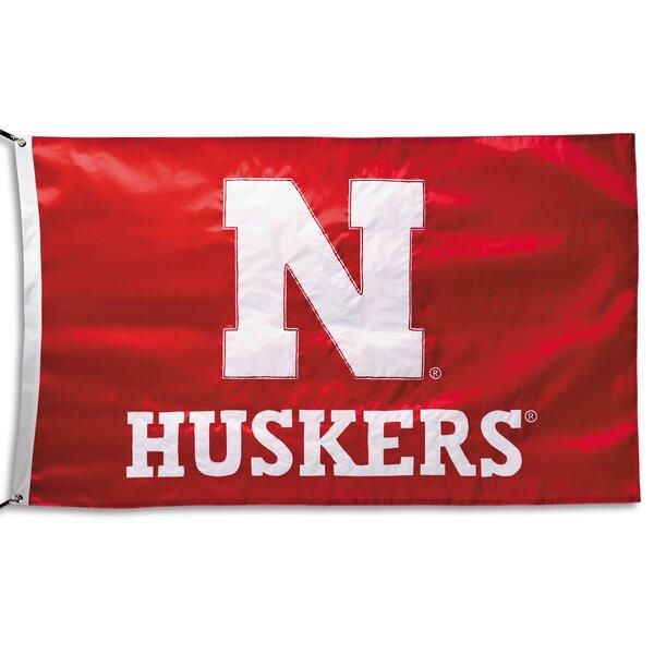 NCAA Applique Nylon 3 x 5 ft. Flag by Team Pro-Mark