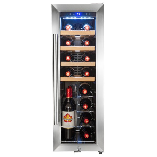 20 Bottle Single Zone Freestanding Wine Cooler by AKDY