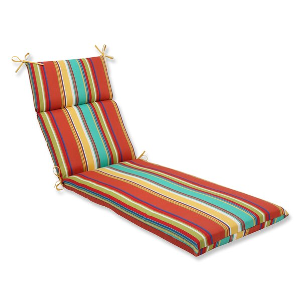Westport Indoor/Outdoor Chaise Lounge Cushion by Pillow Perfect