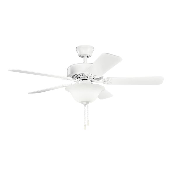 50 Borgen Traditional 5-Blade Ceiling Fan by Alcott Hill