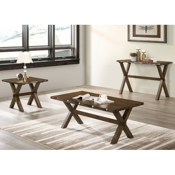 Esmeralda 3 Piece Coffee Table Set by Foundry Select Foundry Select