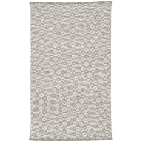 Majeski Hand-Woven Wool Moonstruck/Frost Gray Area Rug by Union Rustic