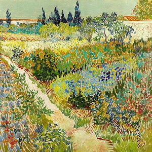'The Garden at Arles' by Vincent van Gogh Photographic Print by East Urban Home
