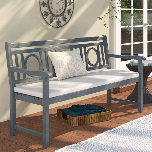 3 Seat Acacia Garden Bench by Birch Lane™