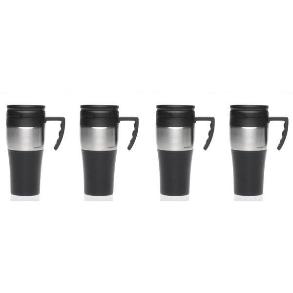 Travel Mug (Set of 4) by BergHOFF International