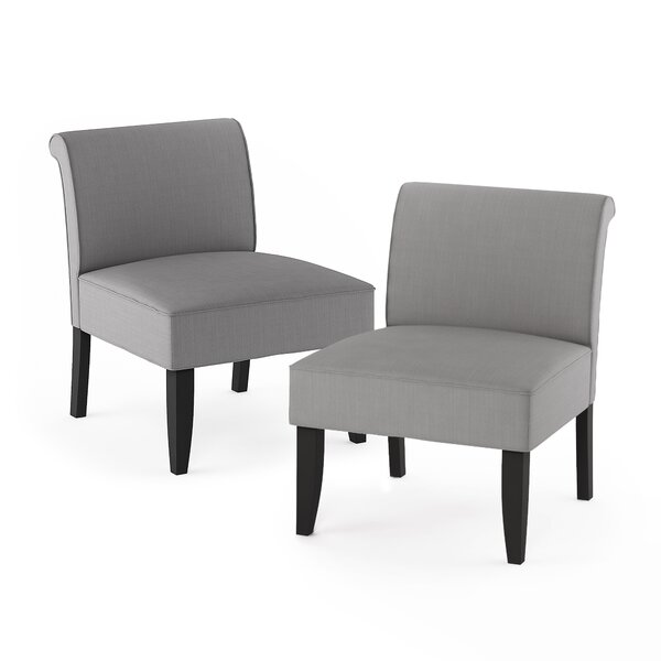 Aikens Belfort Slipper Chair (Set Of 2) By Red Barrel Studio®