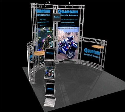 Cetus Expo Truss Kit by Exhibitor's Hand Book