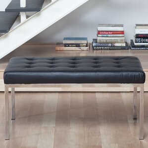 Lintel Leather Bench by Studio Designs HOME