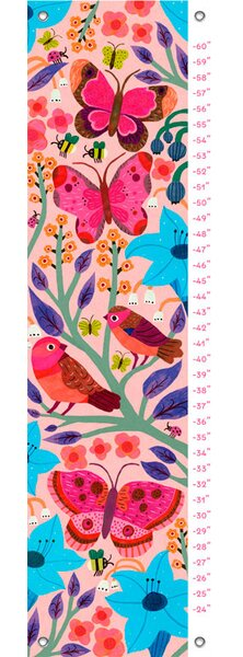 Joaquin Butterfly Field Growth Chart by Harriet Bee