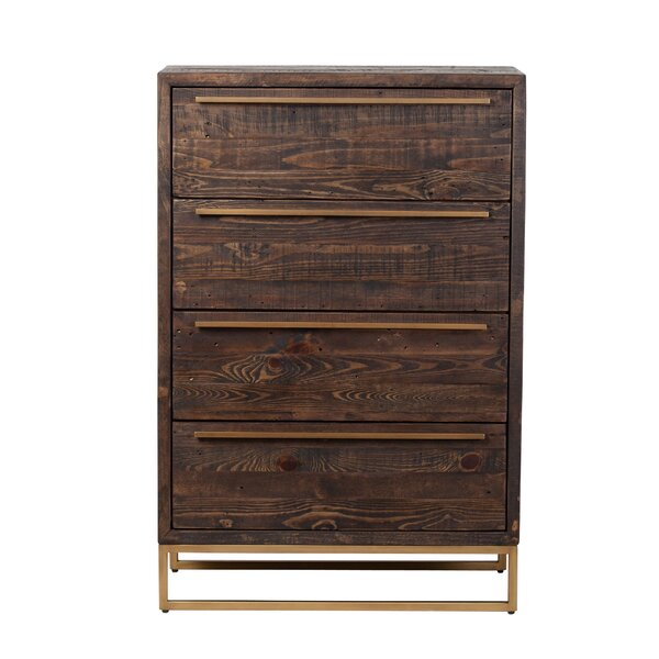 Hanah 4 Drawer Chest by Foundry Select