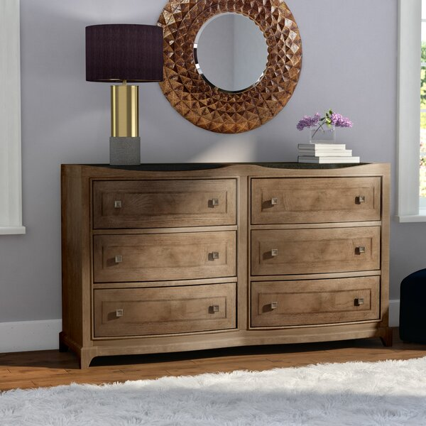 Alcalde 6 Drawer Double Dresser by Willa Arlo Interiors