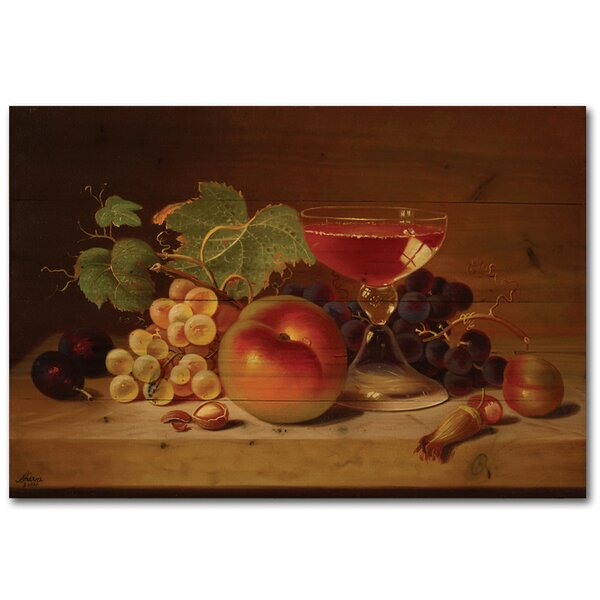 Fruit and Cocktail by Shiva Painting Print Plaque by WGI-GALLERY