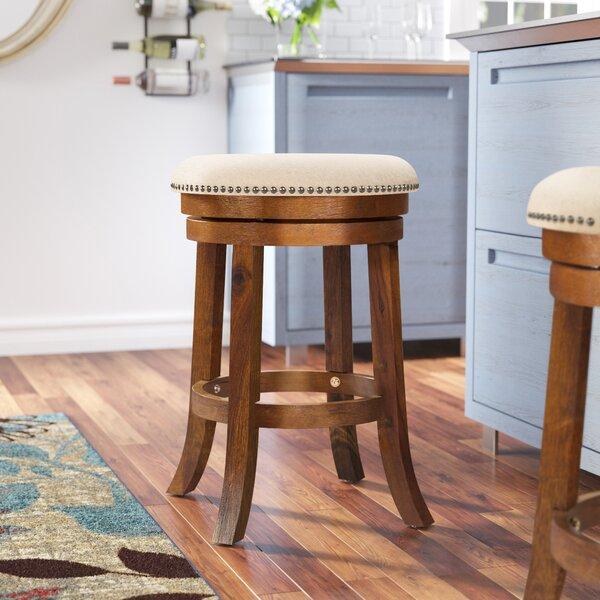 Gracie Oaks Beedle Swivel 26 Counter Stool Reviews Wayfair