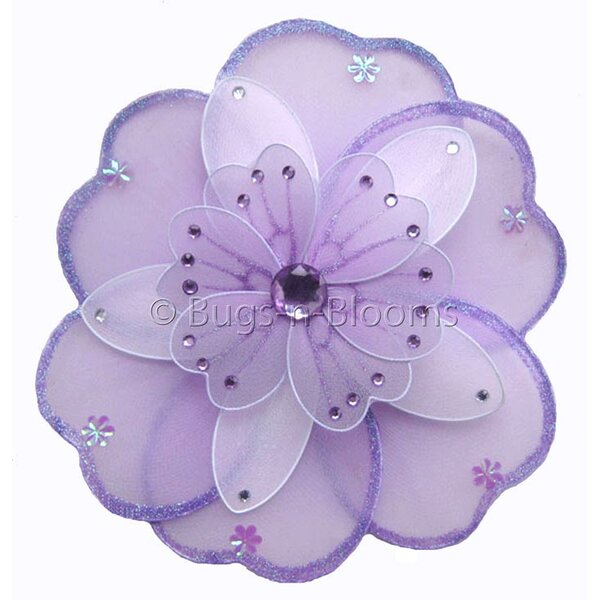 Flower Hanging Triple Layered Nylon 3D Wall Decor by Bugs-n-Blooms