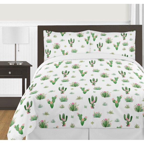 Cactus Floral Bed Skirt by Sweet Jojo Designs