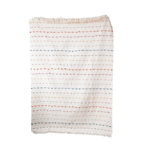 Cotton Throw by Mistana
