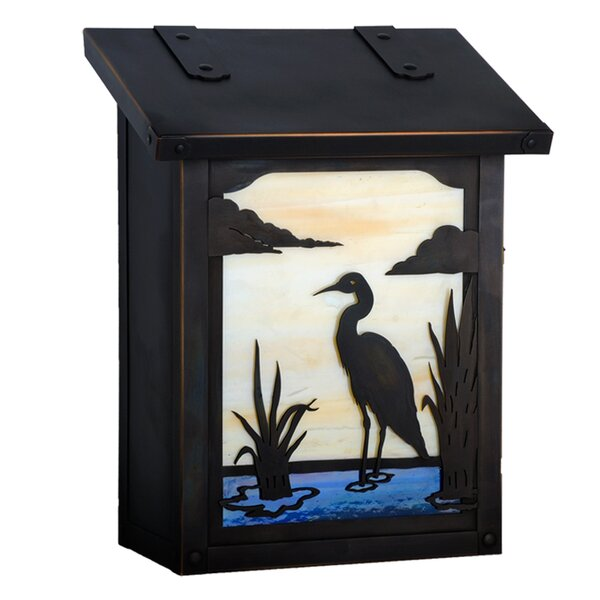 Heron Wall Mounted Mailbox by America's Finest Lighting Company