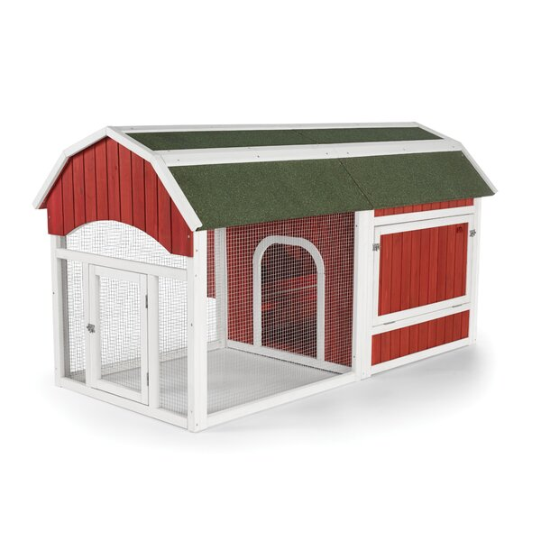 Red Barn Small Chicken Coop by Prevue Hendryx