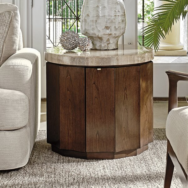 Laurel Canyon End Table with Storage