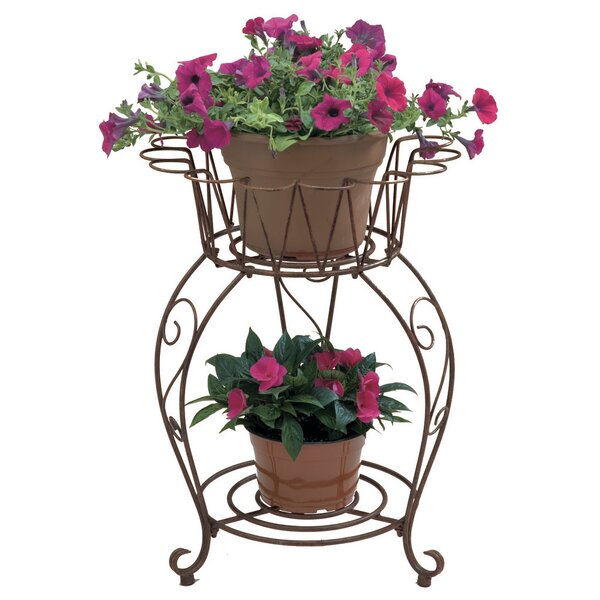 Wave Plant Stand by Deer Park Ironworks