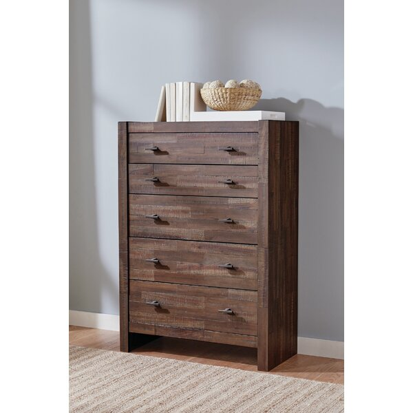 Ishiro 5 Drawer Chest by Foundry Select Foundry Select