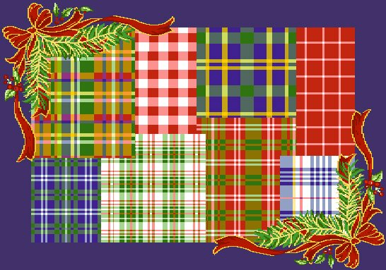 Holiday Tapestry Christmas Plaid Placemat (Set of 6) by The Holiday Aisle