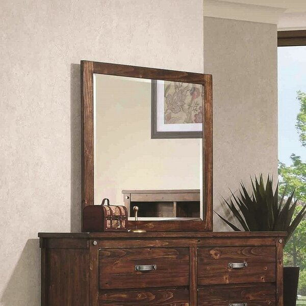 Whitney Square Dresser Mirror by Red Barrel Studio