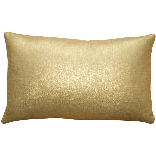 Clarisse Linen Lumbar Pillow by Beachcrest Home