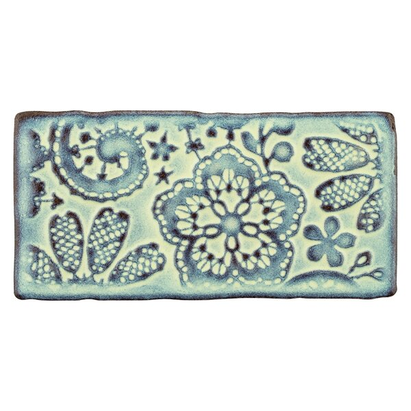 Antiqua 3 x 6 Ceramic Subway Tile in Feelings Aguamarina by EliteTile