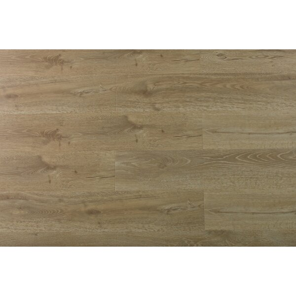 Aditya 8 x 72 x 11.93mm Oak Laminate Flooring in Simply Chestnut by Serradon
