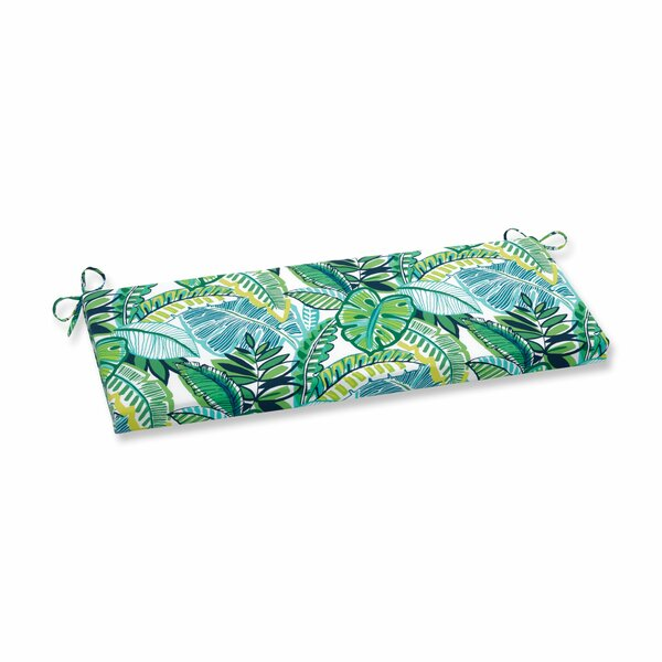 Hester Jungle Indoor/Outdoor Bench Cushion By Bay Isle Home
