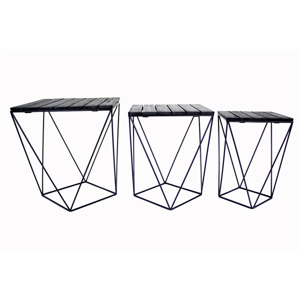 Oriana 3 Piece Nesting Tables by Union Rustic