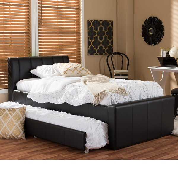 Viveros Twin Upholstered Platform Bed by Latitude Run