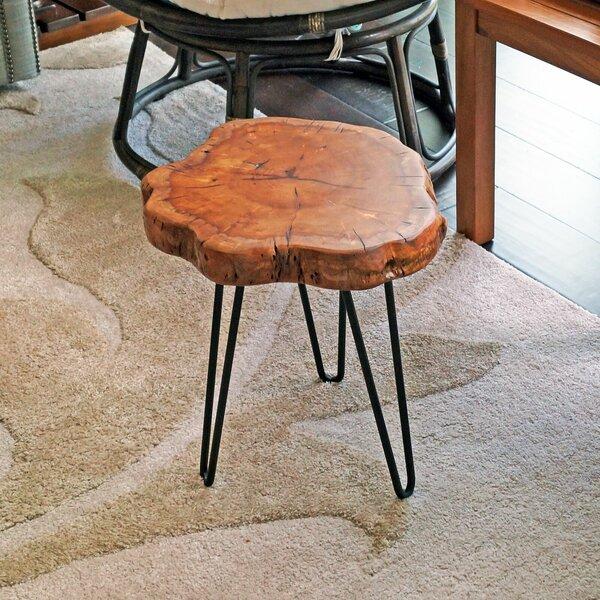 Sari Unique Surface End Table by Union Rustic